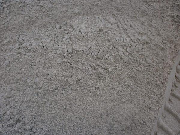 Fint vasket grus i bunke